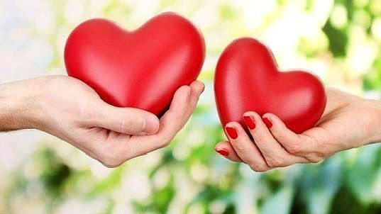 Сердца в руках