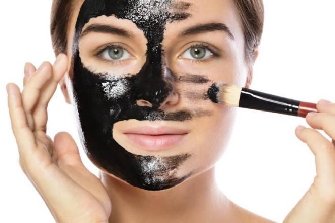 Нанесение маски