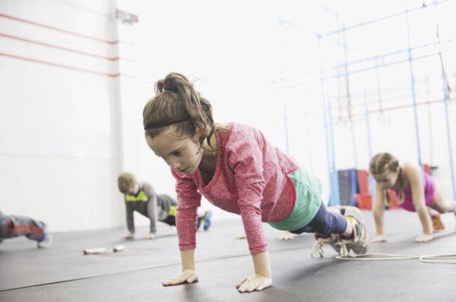 Упражнение у детей