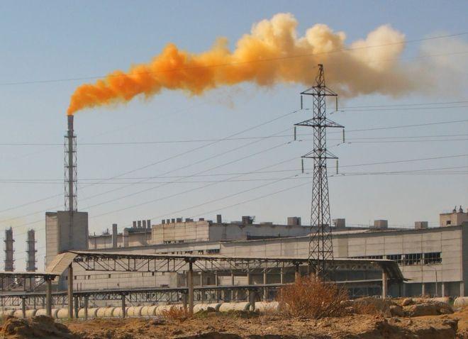Химические выбросы