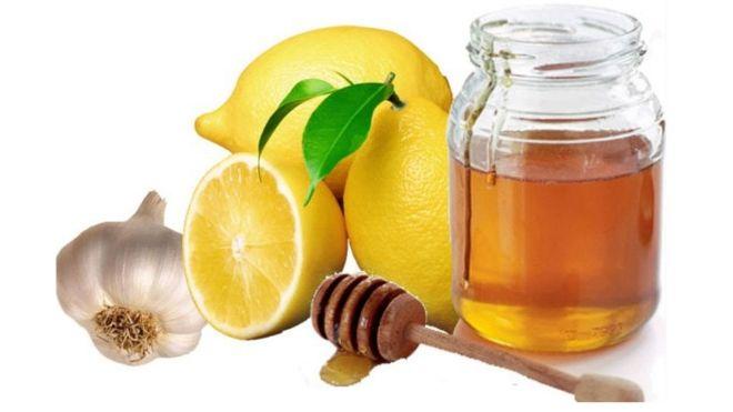 Мед чеснок и лимон