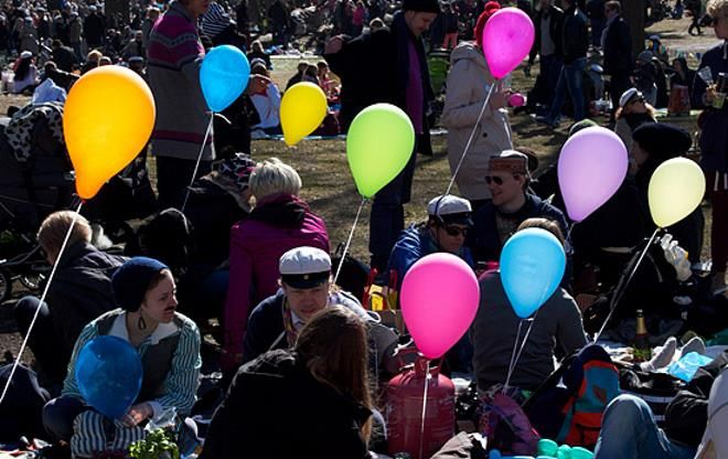 Празднование в Финляндии