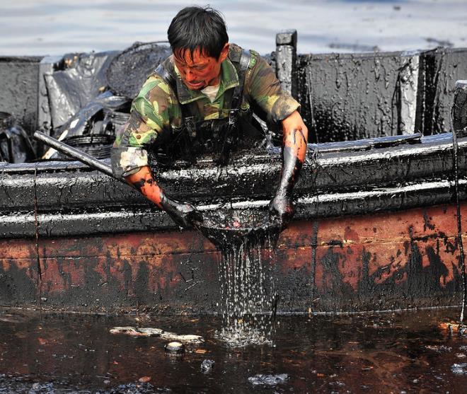Очистка от нефти