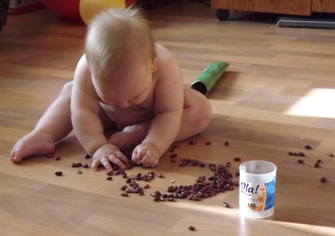 Игры с фасолью