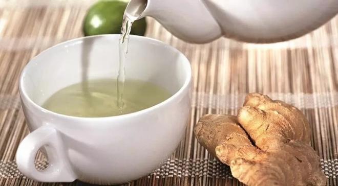 Чай с маслом имбиря