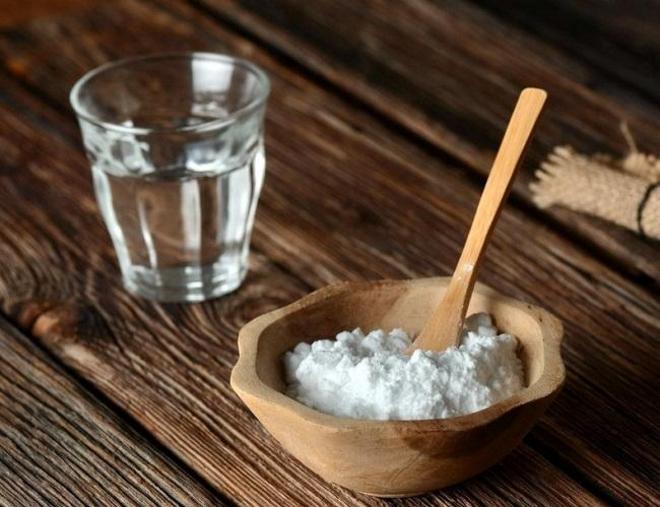Сода для скраба