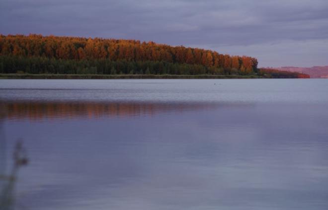Озеро Карагайкуль