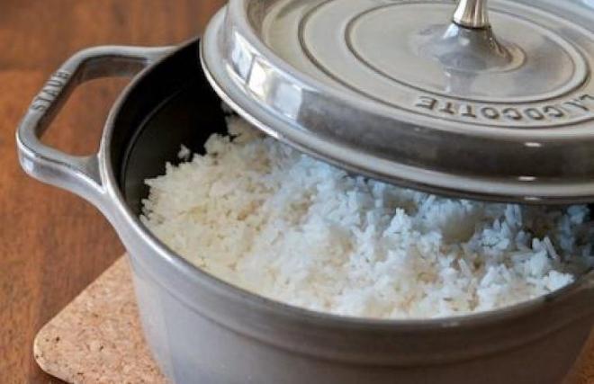 Приготовление риса в духовке