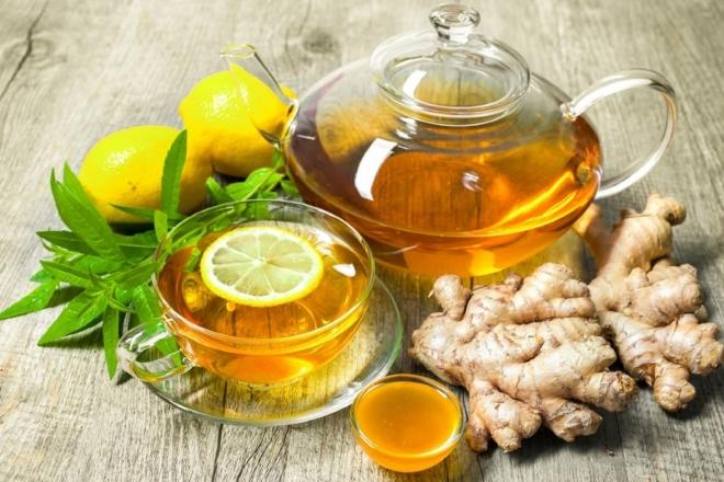 Мед имбирь и лимон