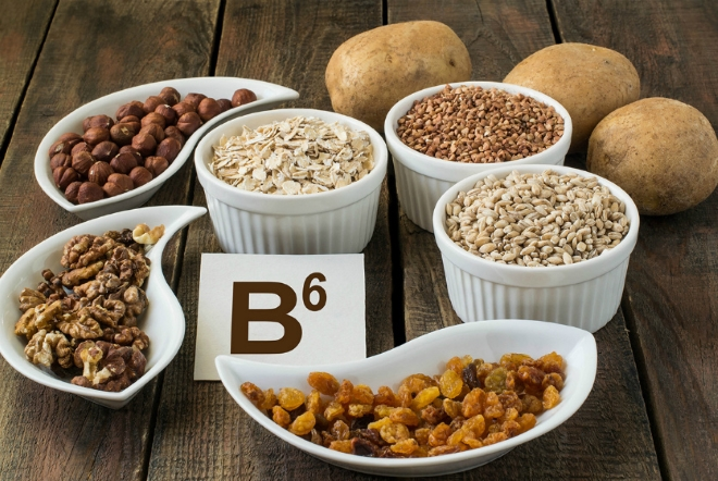 Продукты - источники витамина б6