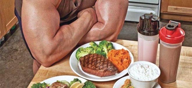 Рацион для роста мышц