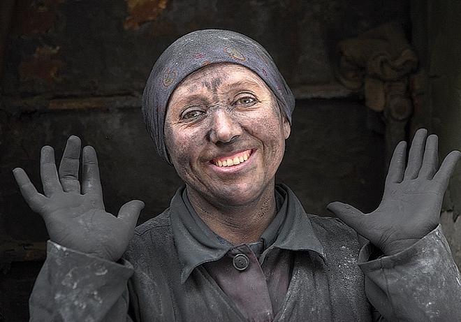 Женщина - шахтер
