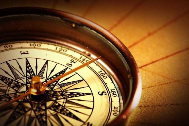 Румбы на компасе
