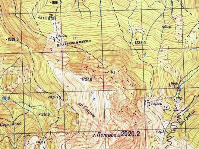 Геодезическая карта