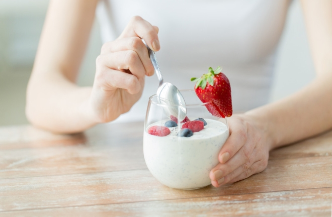 Живой йогурт