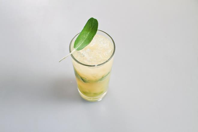 Сок шалфея