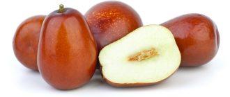 Плоды унаби
