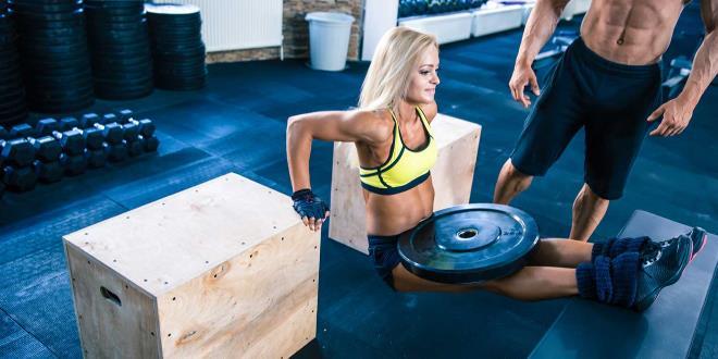 Упражнение с весом