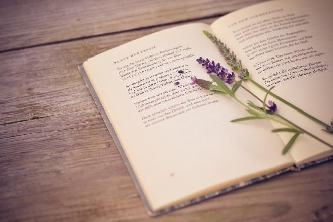 Книга со стихами