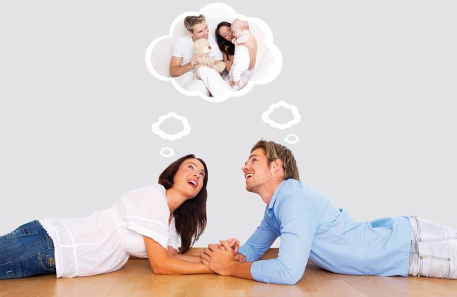 Пара мечтает о ребенке
