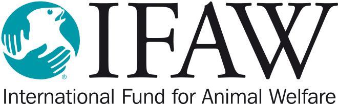 Логотип IFAW