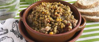 Чечевица зеленая: рецепты приготовления и время варки