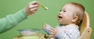 Меню ребенка в 1 год: особенности питания и режим
