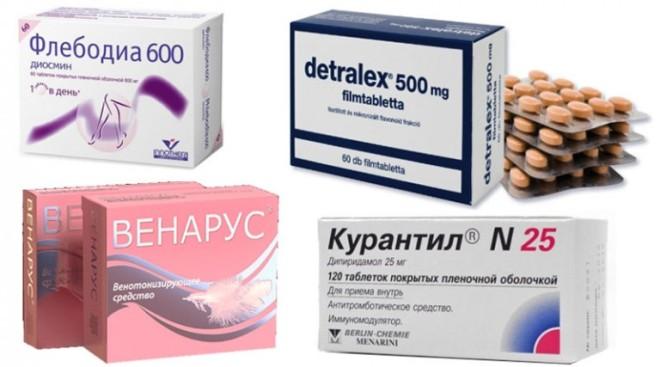 Народные средства и препараты от варикозного расширения вен
