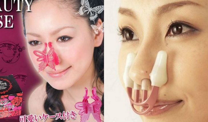 Сумасшедшие бьюти-изобретения из Азии: корректор формы носа, гамак для щек....