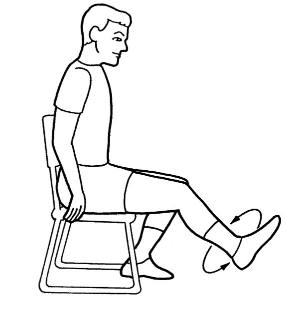 Почему люди в положении сидя дрыгают ногой?