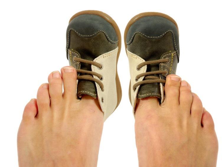 Почему нельзя носить тесную обувь