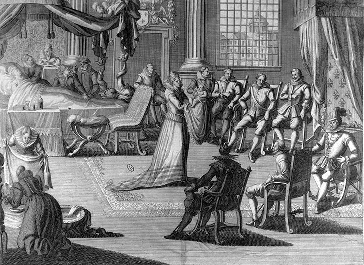 Роды королев в старину были настоящим шоу для придворных