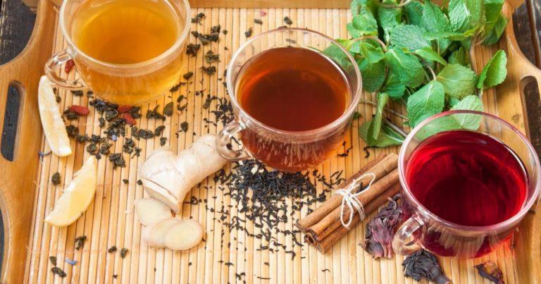 5 видов чая, которые помогут справиться с простудой