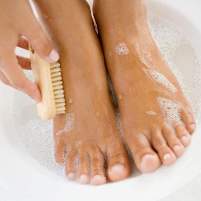Уход за ногами и стопами в домашних условиях