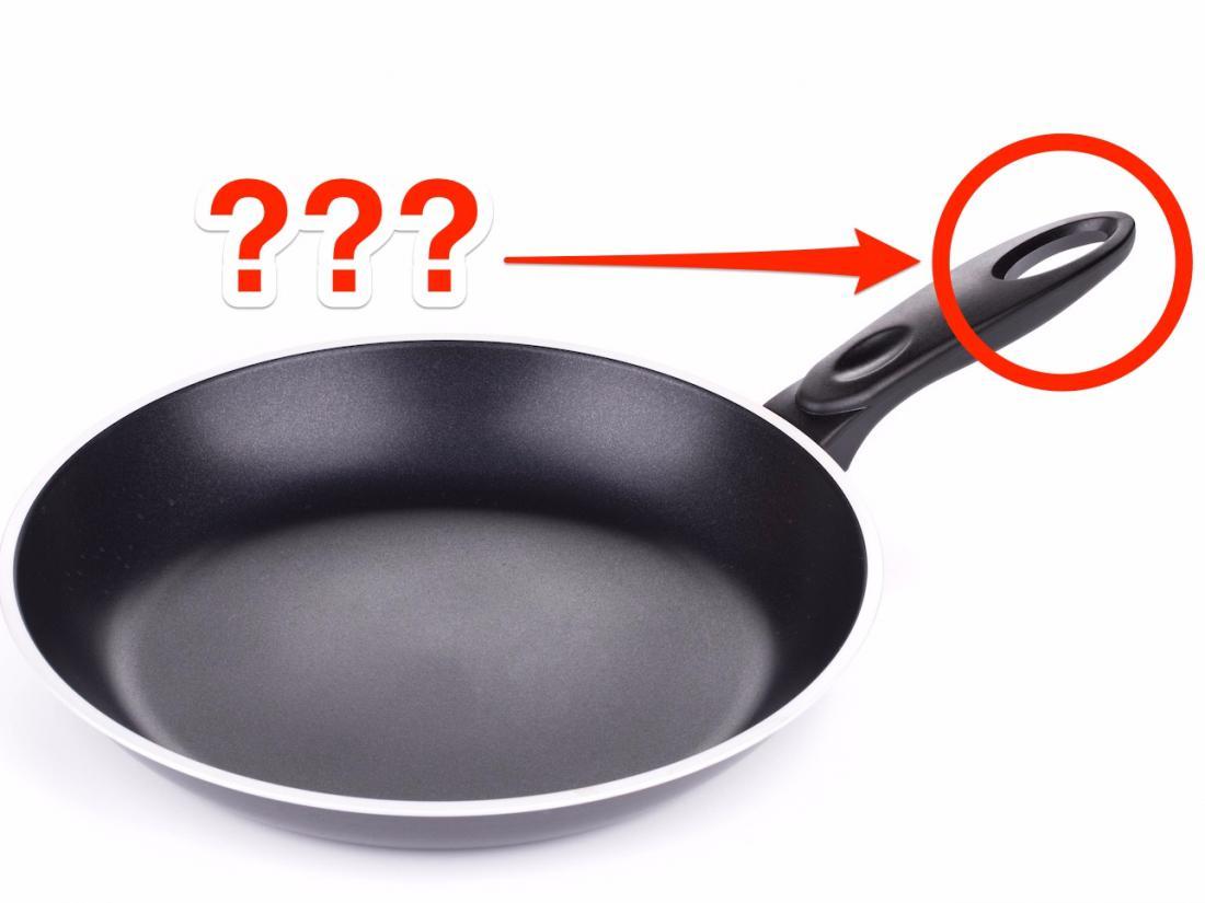Зачем в ручке сковороды делают дырки и почему колпачок шариковой ручки тоже с отверстием – не для того, чтобы свистеть