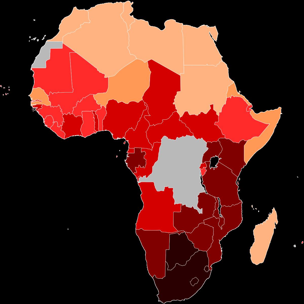 В ЮАР количество больных СПИДом и вич выросло почти на 4 миллиона человек за 17 лет