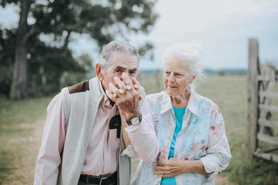 Фото пожилых людей и стариков